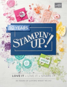 Stampin' Up, SU, Annual Catalogue 2018-2019, Stamping Flair