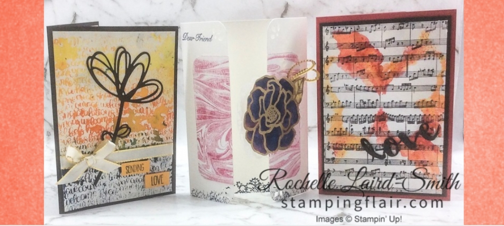 Stampin' Up, SU, Rochelle Laird-Smith, Stamping Flair, Brushos, Cardmaking, Class