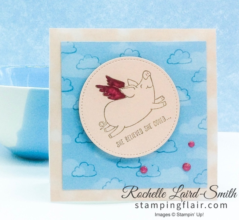 Stampin' Up, SU, Stamping Flair, Rochelle Laird-Smith, This Little Piggy