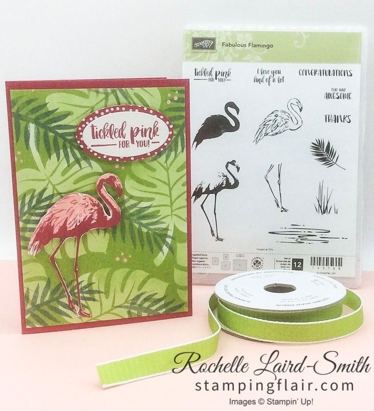 Stampin' Up, Stamping Flair, Rochelle Laird-Smith, Tropical Escape, Handmade Card