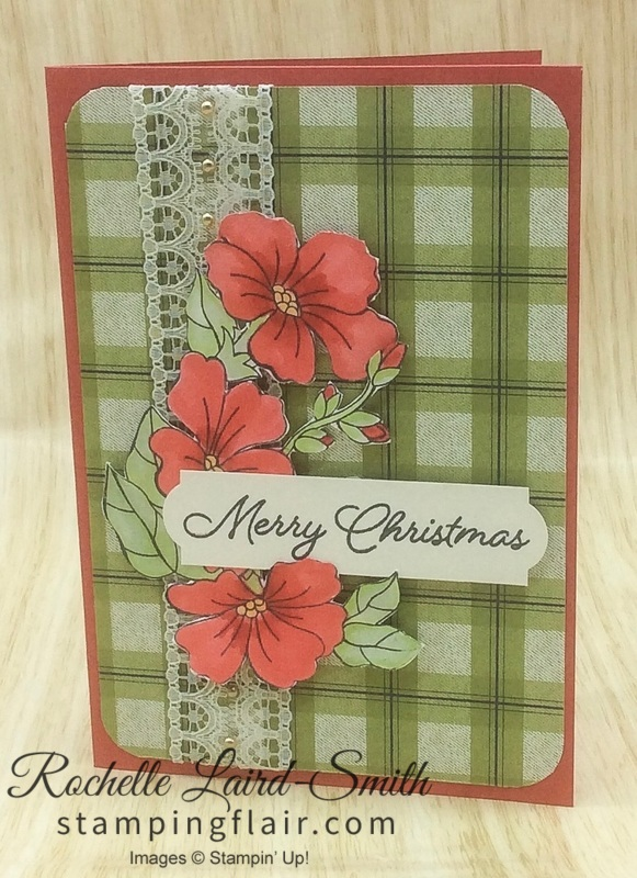 Stampin' Up SU, Stamping Flair, Rochelle Laird-Smith, Blended Seasons