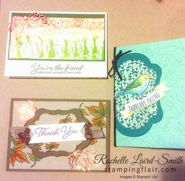Stampin' Up, Stamping Flair, Card Class