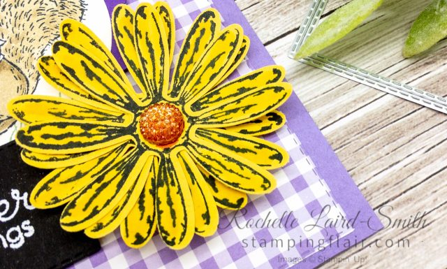 Daisy Delight coloured with Stampin Blends Alcohol Markers