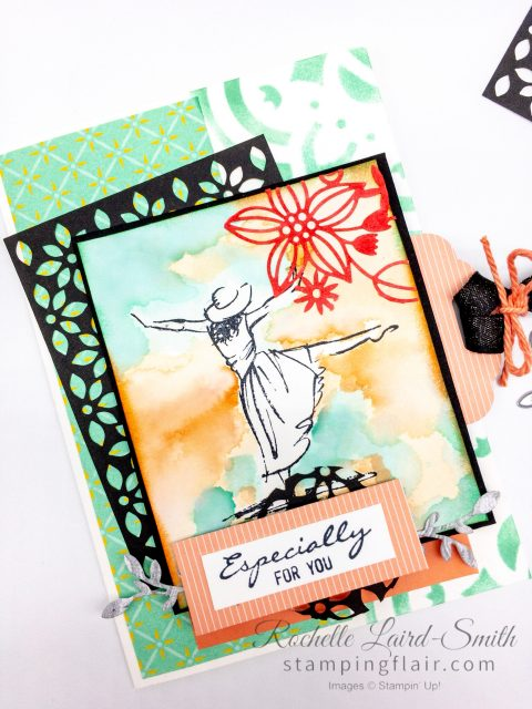 Step it up Sunday Create a handmade card with Beautiful You stamp set by Stampin Up