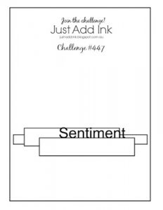 Just Add Ink Sketch Challenge