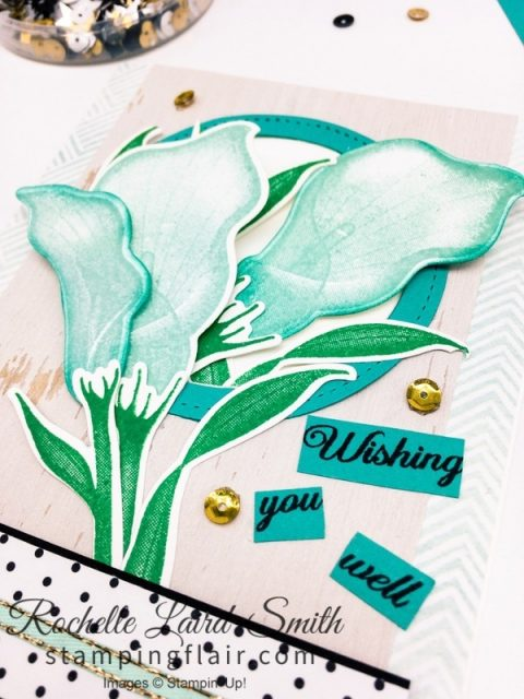 Get Well card with Stampin' Up! Painted Seasons Designer Series Paper