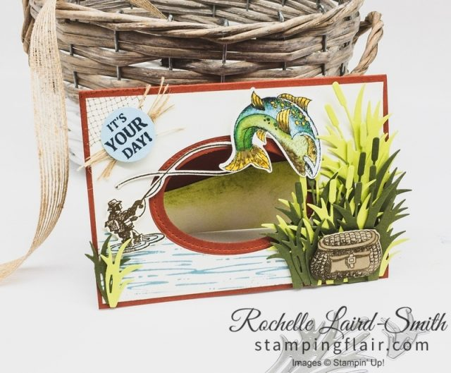 Best Catch, Step-it-Up Sunday, Masculine card for fisherman, Avid crafter