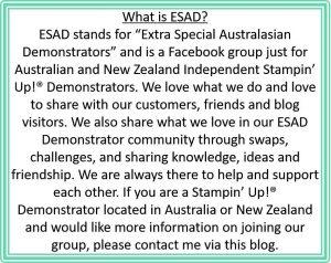 ESAD Blog Hop, Stampin' Up Demonstrator Facebook Group