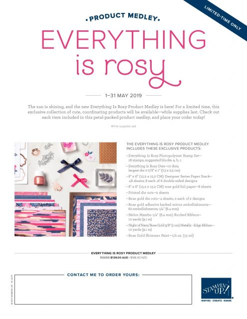 Everything is Rosy Product List