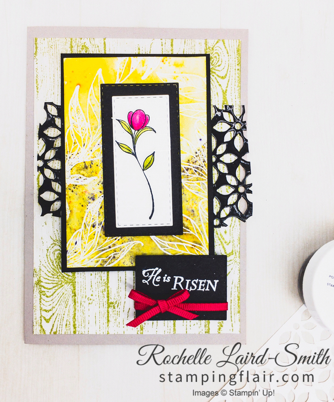 Step-it-Up Sunday card for the avid crafter with His Grace stamp set, Easter card, Stampin' Up!