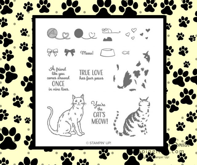 Cat image Nine Lives stamp image