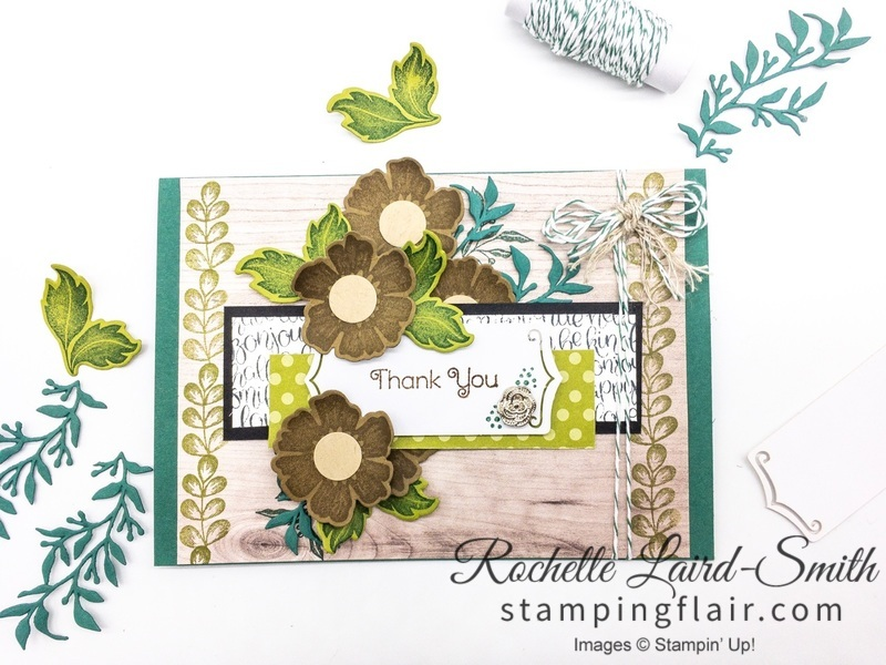 Avid crafter card with Everything is Rosy product medley