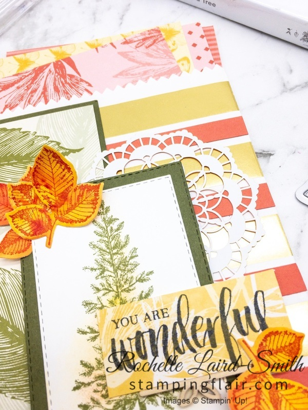 Stampin' Up! Lovely as a Tree and Rooted in Nature Treat Bag