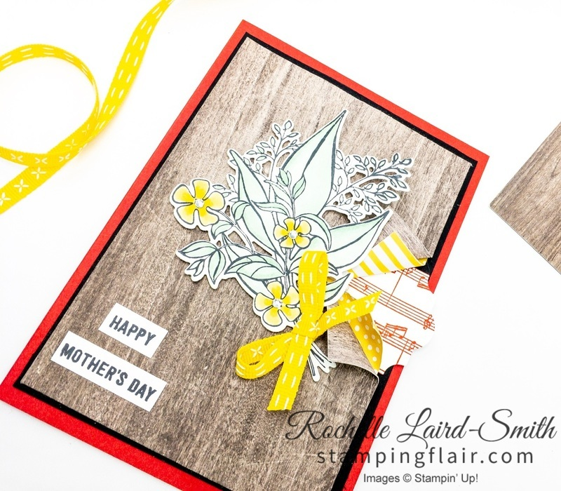 Handmade Card for Mother's Day Stampin' Up! Wonderful Romance