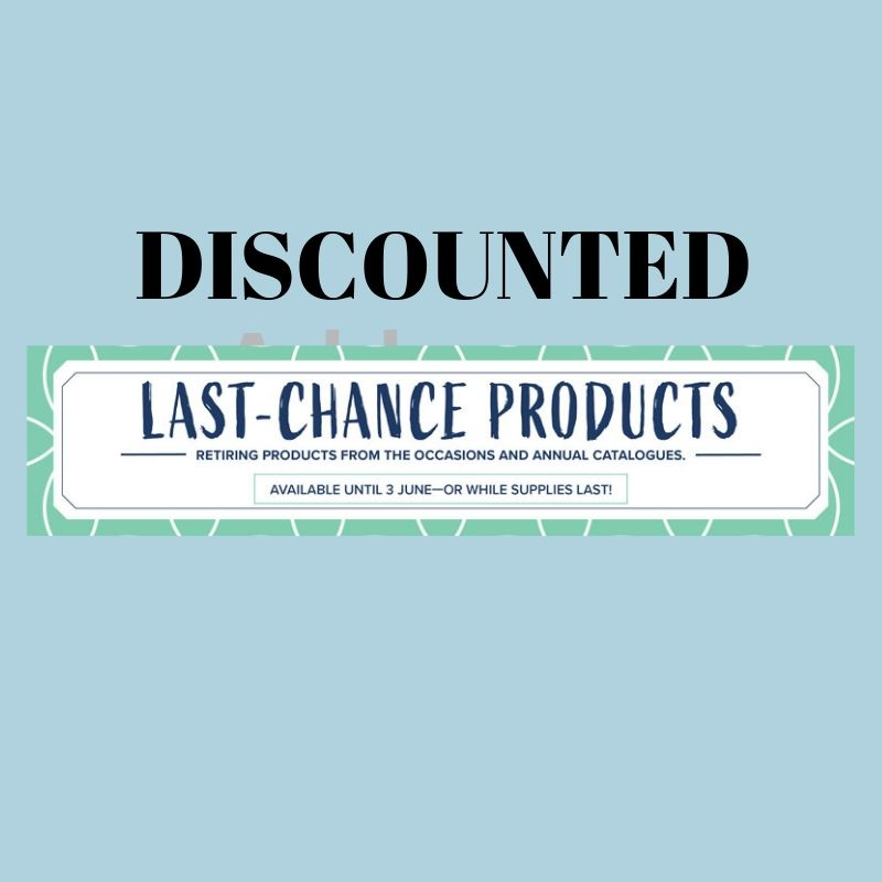 Selected Retiring Items to be Discounted - Stamping Flair