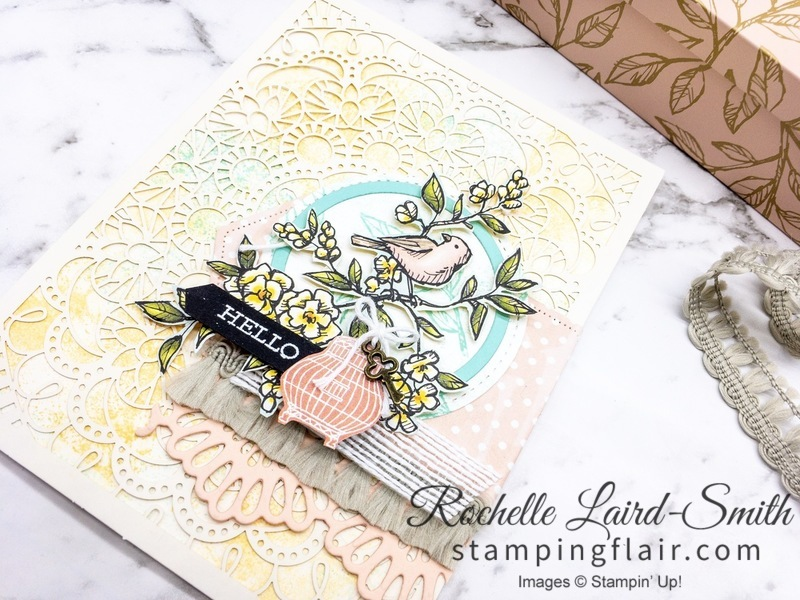 2019-2020 Stampin Up Annual Catalogue, Bird Ballad, Free as a Bird stamp set