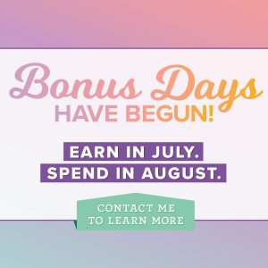 Stampin' Up! earn extra dollars to spend