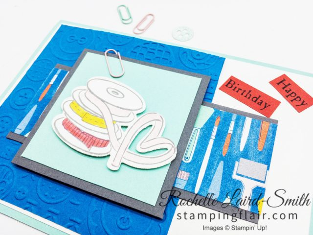 DIY greeting card to give crafters and hobbyists