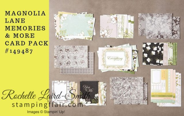 Magnolia Lane Memories & More Card Pack
