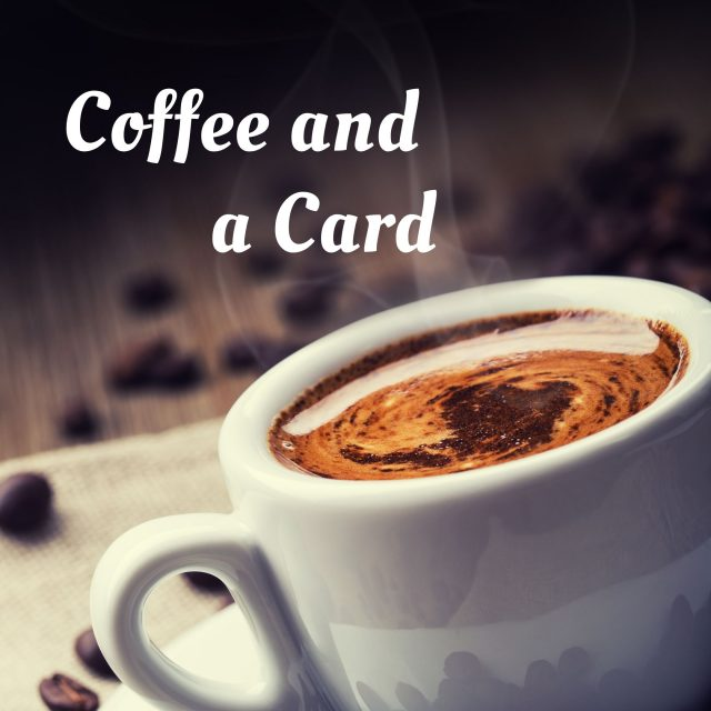 Coffee and a Card, Joe's Mocha Pot Cranbourne, Cafe and Cardmaking