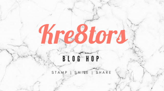 Kre8tors Blog Hop August Color Challenge