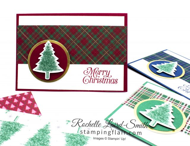 Quick and Easy Christmas Cards in a hurry