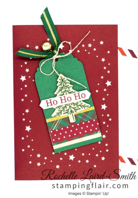 Christmas card with Night Before Christmas printed cards