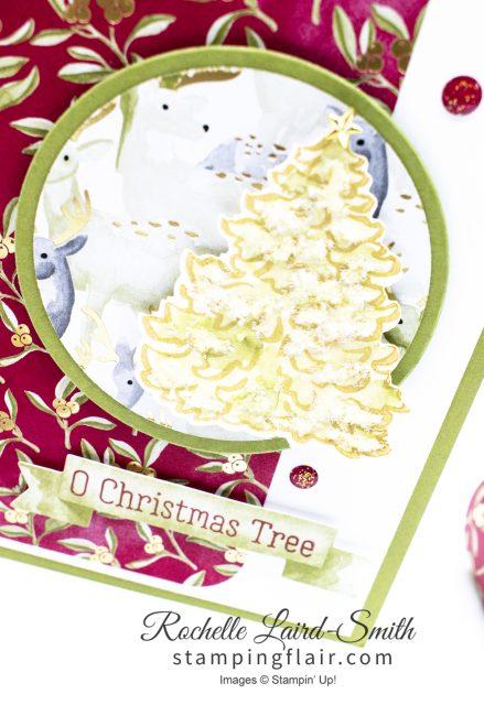 Ice Glitter on Christmas tree, Holiday Catalogue 2019