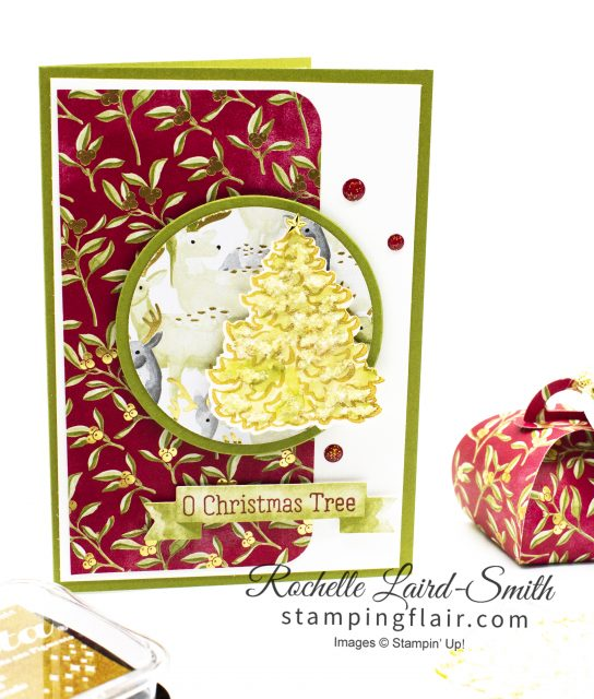 Christmas card with Most Wonderful Time of the Year Product Medley