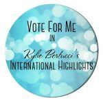 Vote for me Kylie Bertucci's Blog Highlights