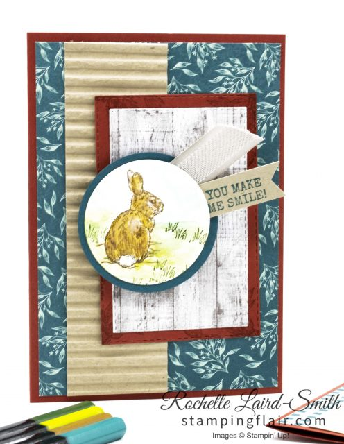 Nature's Beauty stamp set by Stampin' Up!, Make a difference to Mental Health
