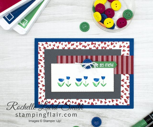 Friendship card using Little Elephant stamp set by Stampin' Up!
