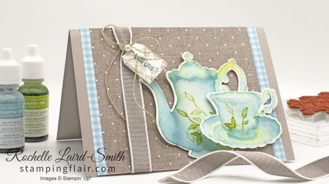 High Tea with Tea Together stamp set by Stampin Up