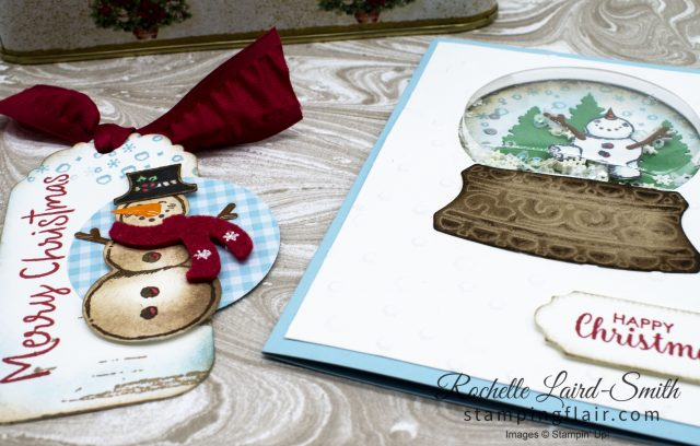 Snow Globe Shaker Dome Stampin' Up!