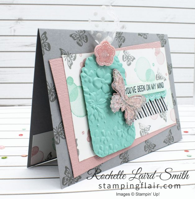 Stampin' Up! handmade card with butterfly
