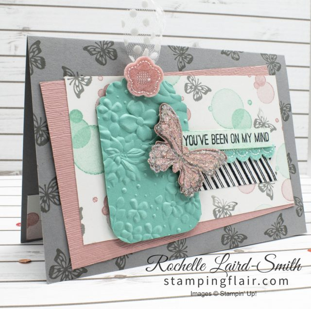 Stampin' Up! Butterfly Gala card with Dazzling Diamonds