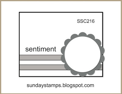 Teacher Appreciation card Sunday Stamps Sketch Fun SSC216