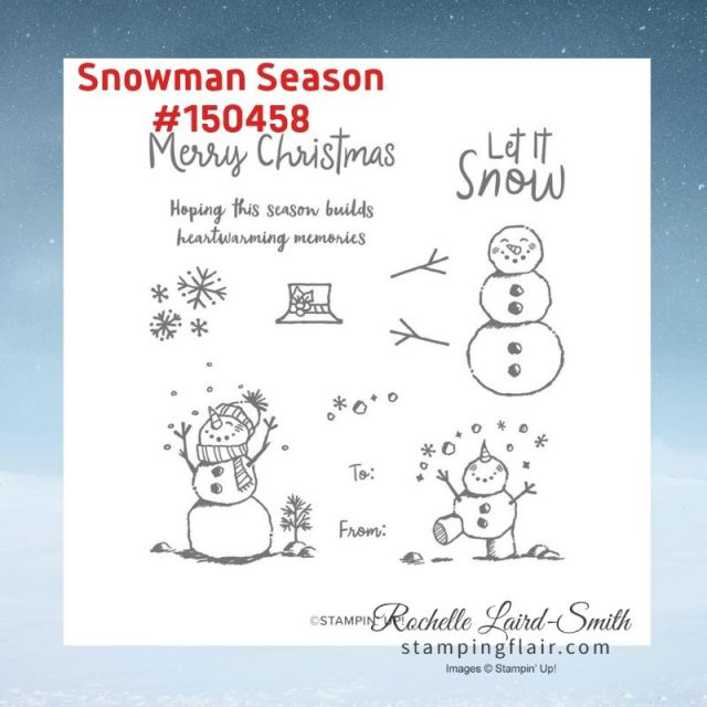 Snowman Season Stamp Sets