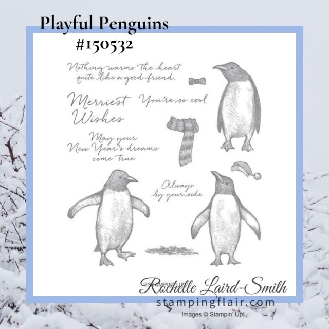 Stampin' Up! Playful Penguins