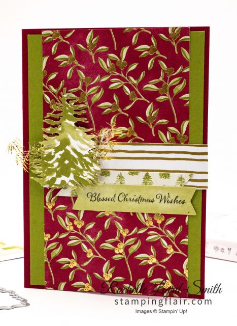 Most Wonderful Time, Stampin' Up! handmade card