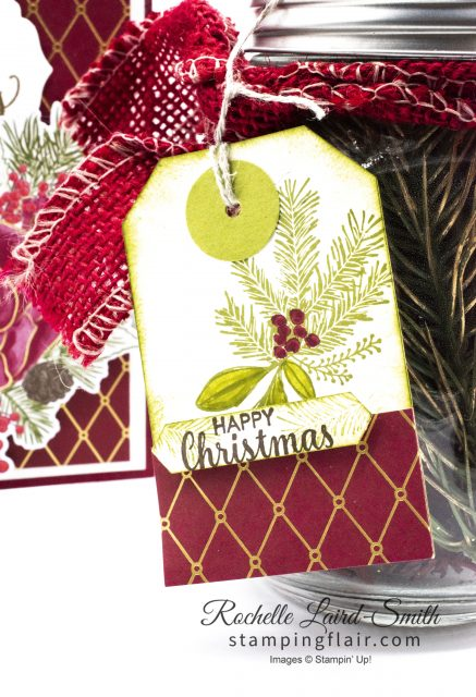 Christmas Gift Tag with Christmas Countdown stamp set