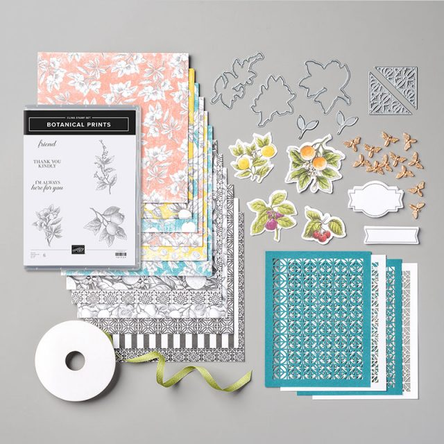 Botanical Prints Product Medley