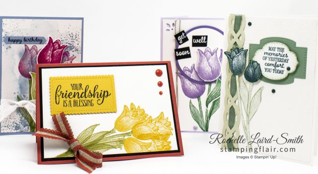 Timeless Tulips Class, Stamping Flair
