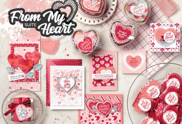 From My Heart Suite, Stampin' Up!