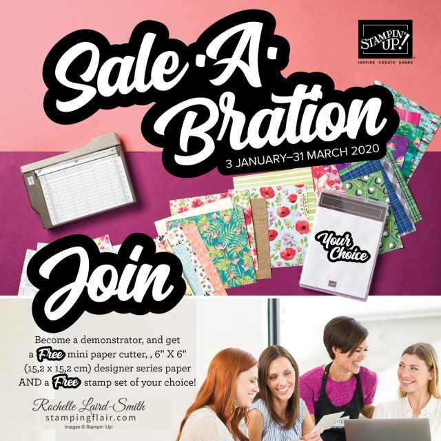 Join my Team, Stamping Flair
