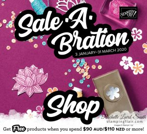 Stampin' Up! Sale-A-Bration shop with me