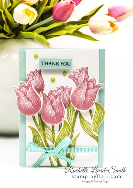 Make it in Minutes, Tulip card with punch