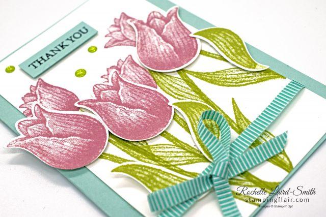 Make it tonight Tulip card, Stampin' Up!