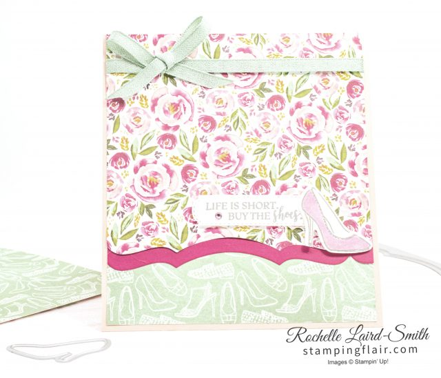 Dressed to Impress, Best Dressed card with Scallop Edge Layout, Stampin' Up! 2020 Mini Catalogue