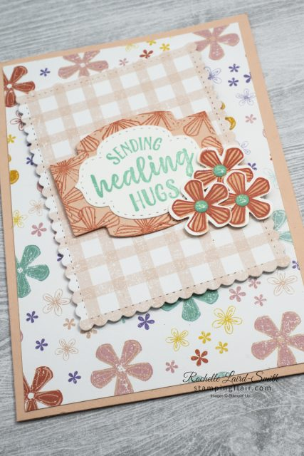 SAB 2020. Subtles card with So Sentimental bundle and Thoughtful Blooms